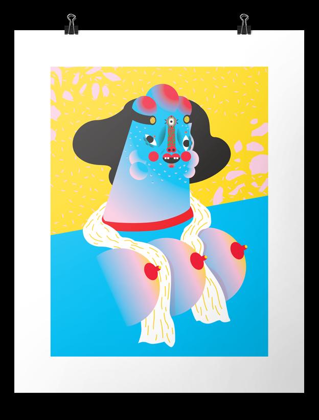Wong Ping – Art Print